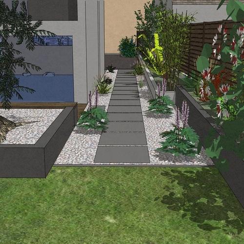 Aménager un jardin pour une maison neuve