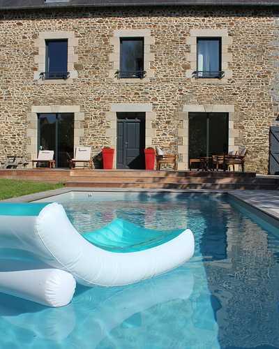 Création d''un espace piscine - Plérin