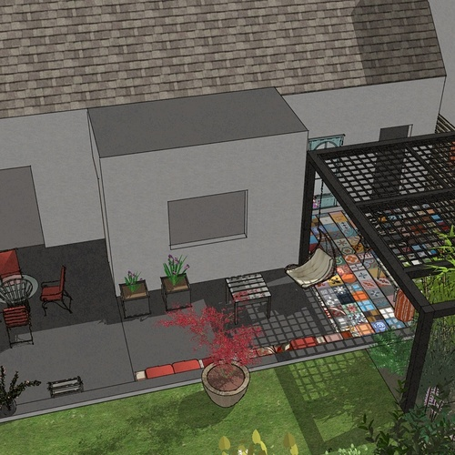 Créer un véritable salon extérieur