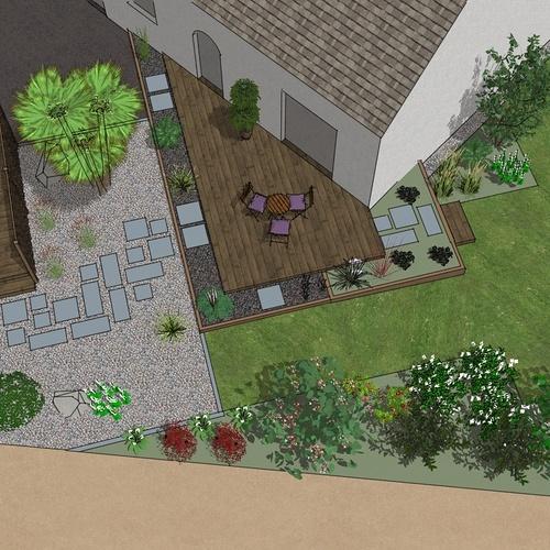Moderniser et créer une terrasse à Langueux