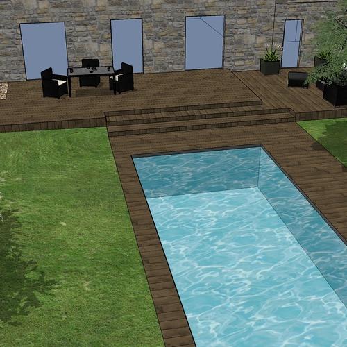 Projet intégration piscine - Plérin