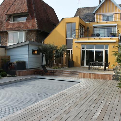 Relooking complet d''un jardin de ville - Saint-Brieuc (22)